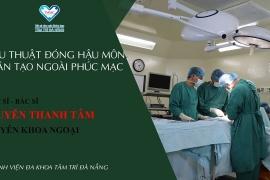 Phẫu thuật làm hậu môn nhân tạo