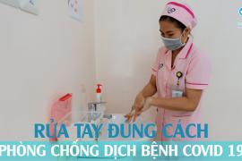 Tâm Trí Đà Nẵng hướng dẫn rửa tay đúng cách