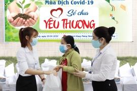 Bệnh viện Tâm Trí Đà Nẵng tặng quà cho người nghèo mùa dịch Covid-19