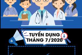 Bệnh viện Tâm Trí Đà Nẵng, thông báo tuyển dụng tháng 7/ 2020: