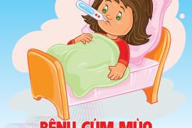 Bệnh cúm mùa ở trẻ
